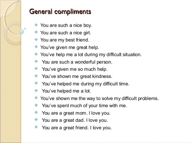 words to compliment a girl on her looks