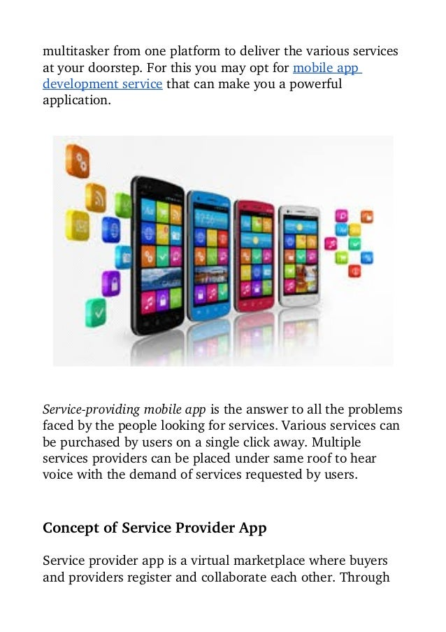 Compliment Your Service Business With Customized Mobile Application Slide 2