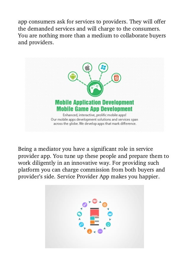 Compliment Your Service Business With Customized Mobile Application Slide 3