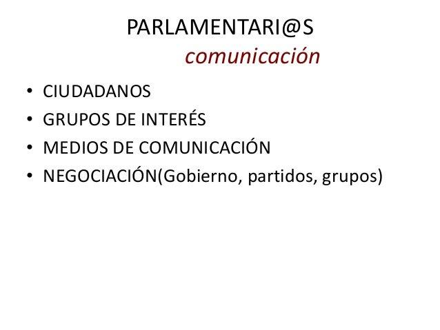 Iniciativas ciudadanas hacia el parlamento