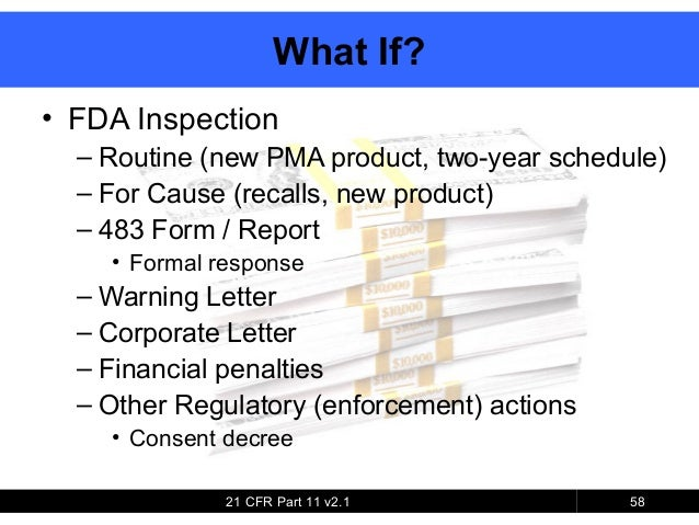 General Overview of Code of Federal Regulations 21 Part 58 Good ...