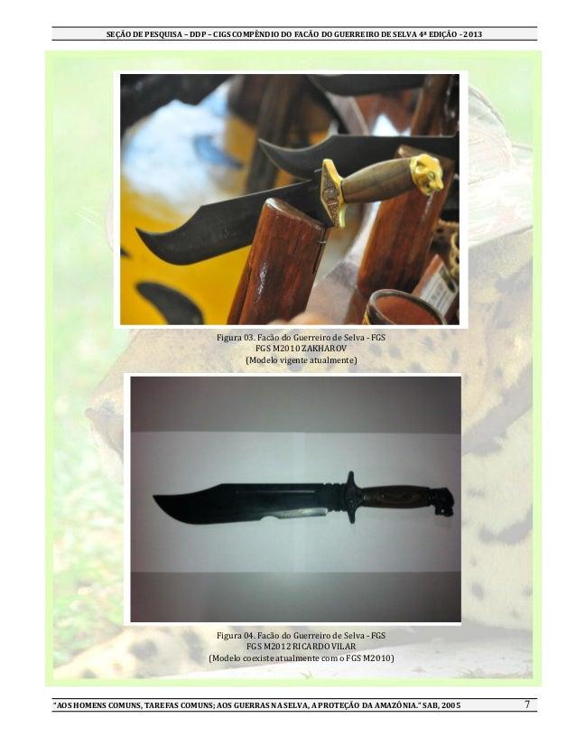 Compêndio do facão do guerreiro de selva 4 ed 13 5548c2550b