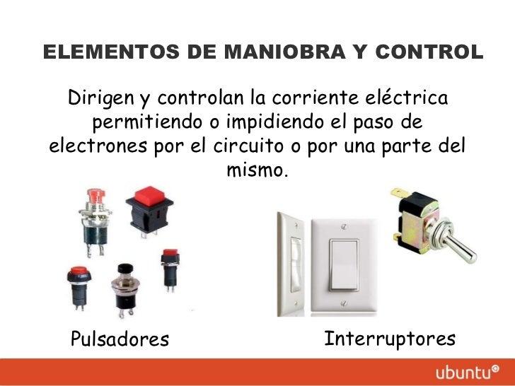 Circuito Electrico Basico : Componentes de un circuito eléctrico