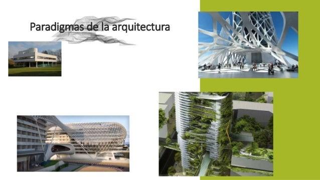 Paradigmas de la arquitectura