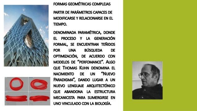 FORMAS GEOMÉTRICAS COMPLEJAS  PARTIR DE PARÁMETROS CAPACES DE  MODIFICARSE Y RELACIONARSE EN EL  TIEMPO.  DENOMINADA PARAM...