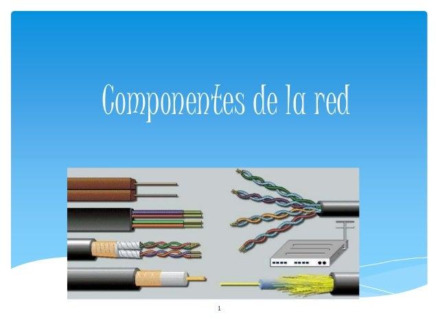 Componentes de la red 1