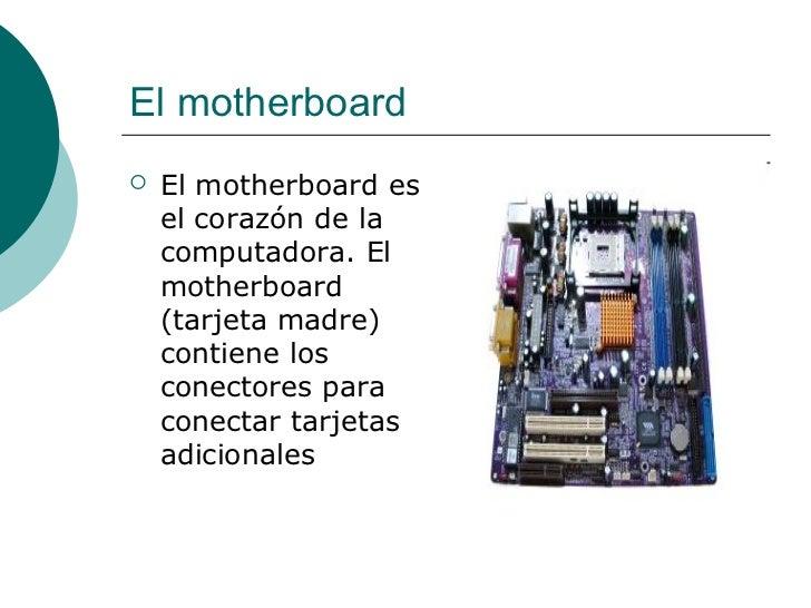 Componentes de la pc Slide 2