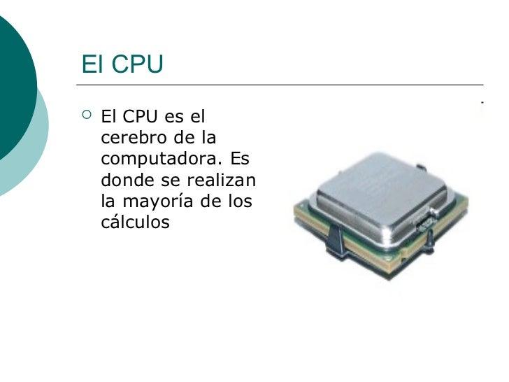 Componentes de la pc Slide 3