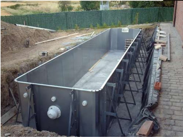 Piscina for Construccion de albercas economicas