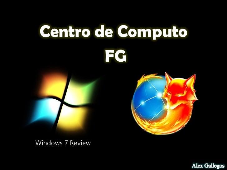 Centro de Computo        FG 12/22/2011