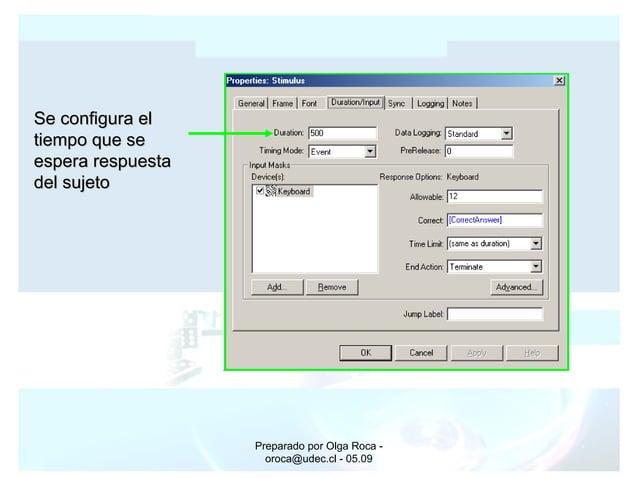 Preparado por Olga Roca - oroca@udec.cl - 05.09 Se configura elSe configura el tiempo que setiempo que se espera respuesta...
