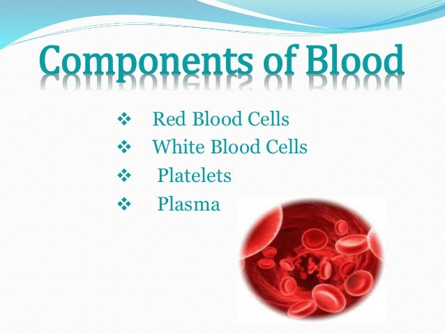 blood disorders and their components Anemia describes the condition in which the number of red blood cells in the   cells in the blood), and when all the proper steps in their maturation are complete ,  for example, iron is a very important component of the hemoglobin molecule   anemia is actually a sign of a disease process rather than bring a disease itself.