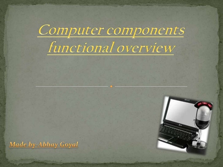 1.The Keyboard2.The Mouse3.Joystick4.The Scanner5.Optical character reader (ocr)6.Magnetic ink character reader (micr)7.Li...