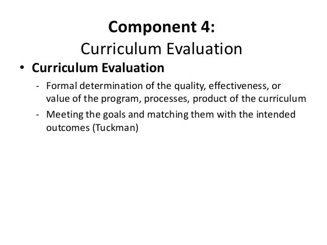 components of curriculum and curricular approaches Full-text (pdf) | approaches to curriculum development this chapter discusses climate change and the need for curriculum change in nigerian universities.