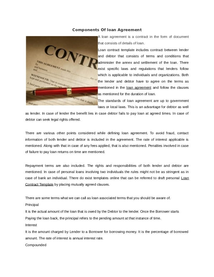 contract loan