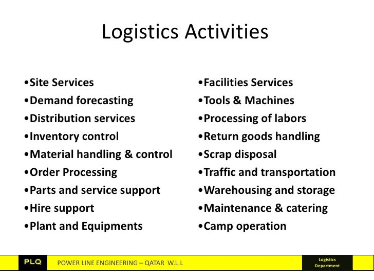 components of logistics However, determining which component of logistics costs to reduce can be   consequently, the calculation of individual logistics cost components has been.