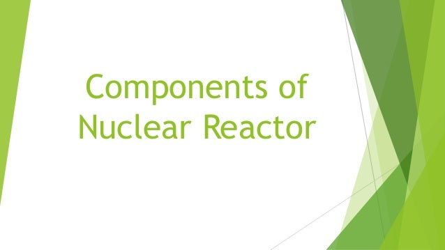 Components of Nuclear Reactor