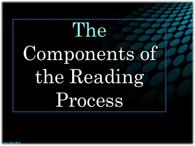 The Components of the Reading Process