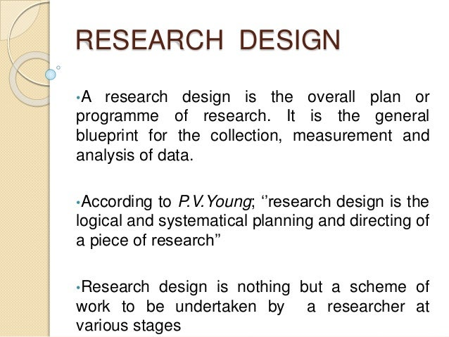 what are the components of research
