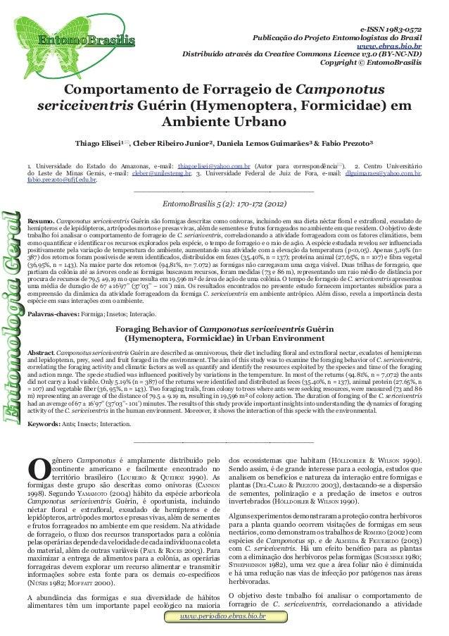 www.periodico.ebras.bio.brwww.periodico.ebras.bio.bre-ISSN 1983-0572Publicação do Projeto Entomologistas do Brasilwww.ebra...