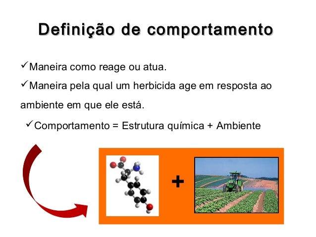 Comportamento de herbicidas no solo Slide 2
