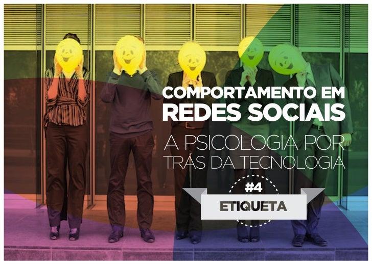 Comportamento em redes sociais - Etiqueta