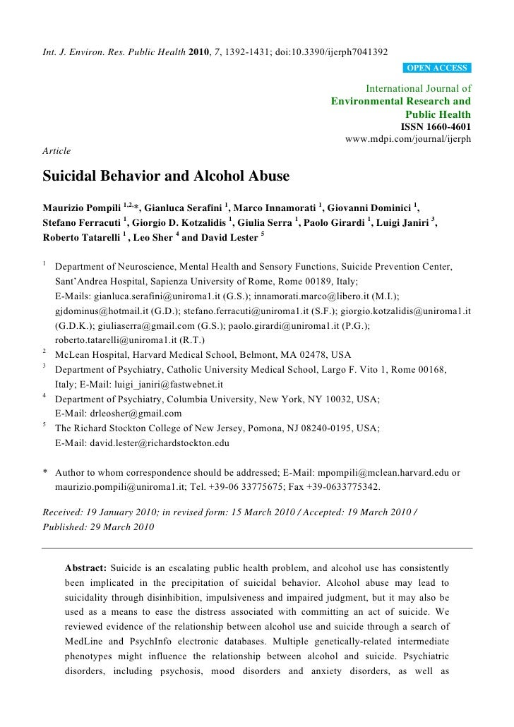 Int. J. Environ. Res. Public Health 2010, 7, 1392-1431; doi:10.3390/ijerph7041392                                         ...