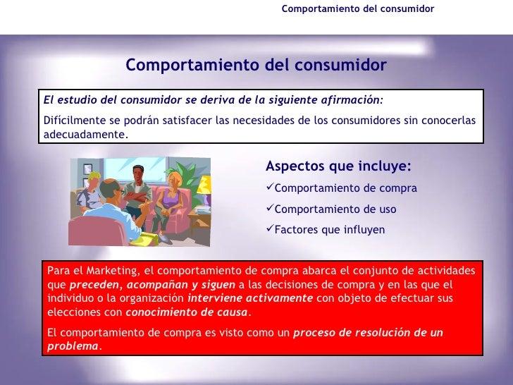 Comportamiento del Consumidor - Marketing - Instituto ISIV Slide 3