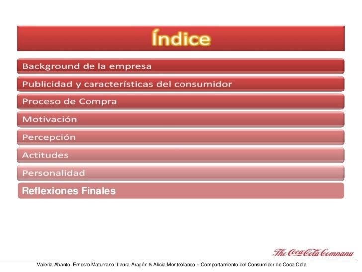 Psicología del Consumo: el Caso Coca Cola Slide 2