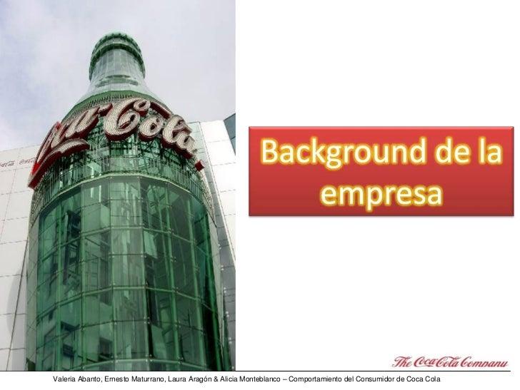 Psicología del Consumo: el Caso Coca Cola Slide 3