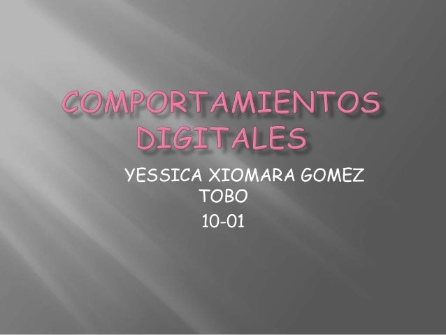 YESSICA XIOMARA GOMEZ       TOBO       10-01