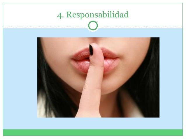 4. Responsabilidad