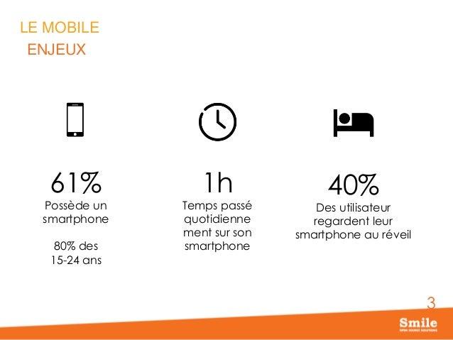 Comportements mobiles : vrais challenges & idées reçues Slide 3