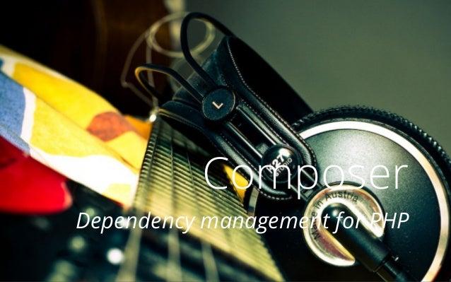Composer Dependency management for PHP