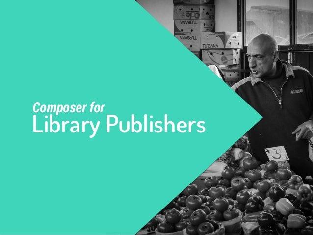 pick your own  unique vendor  Library Publisher Unique vendor names