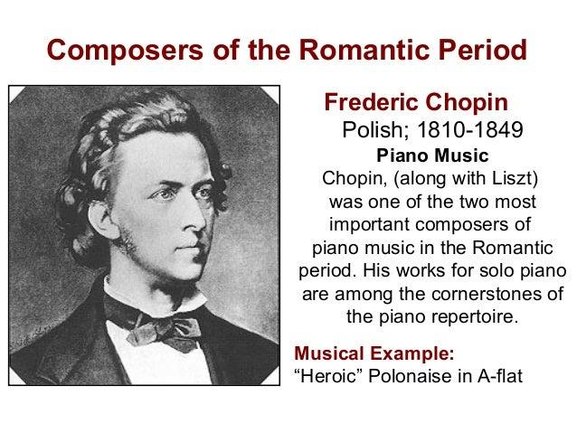 List of Romantic-era composers