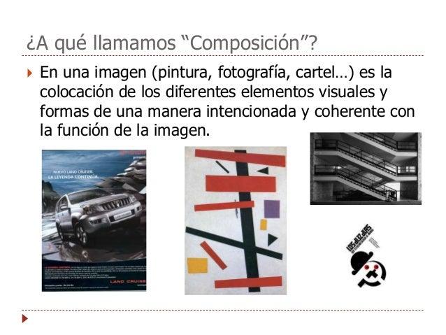 Composición visual artística Slide 2