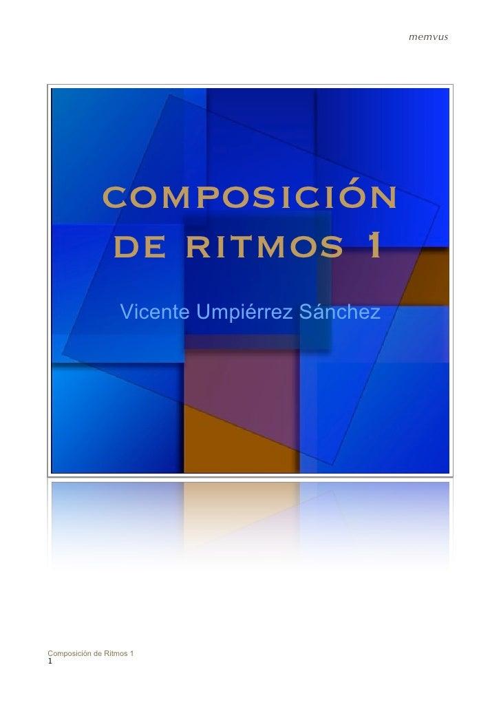 Composicion de Ritmos I