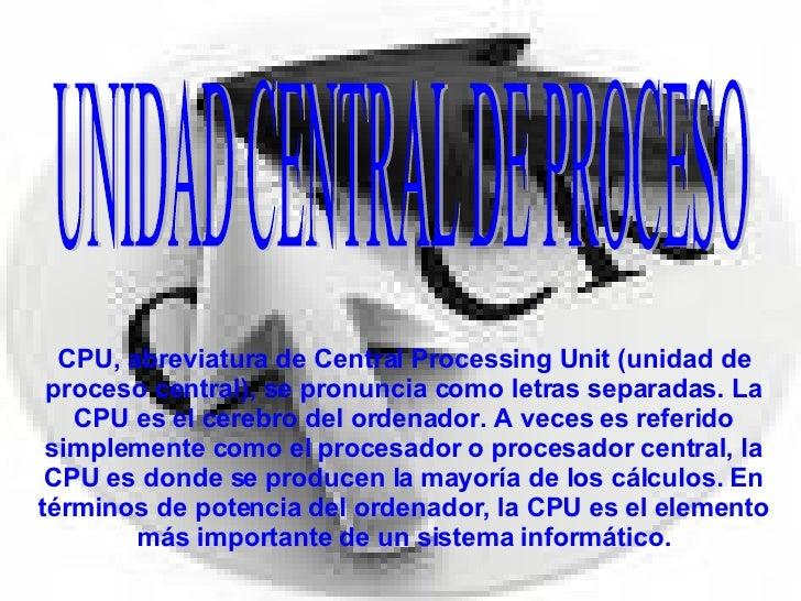 Microprocesador MINA Slide 3