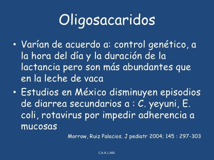 Hidratos de carbono<br />Lactosa : <br />Principal glúcido en leche, formado <br />por glucosa y galactosa<br />Promueve ...