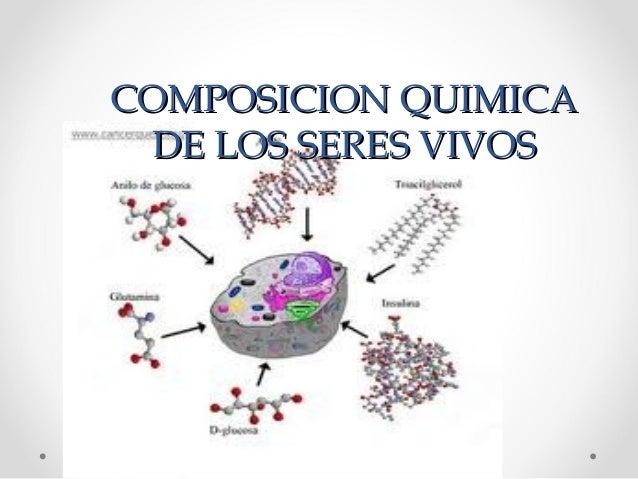 COMPOSICION QUIMICACOMPOSICION QUIMICADE LOS SERES VIVOSDE LOS SERES VIVOS