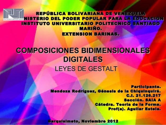 REPÚBLICA BOLIVARIANA DE VENEZUELAMINISTERIO DEL PODER POPULAR PARA LA EDUCACION INSTITUTO UNIVERSITARIO POLITECNICO SANTI...