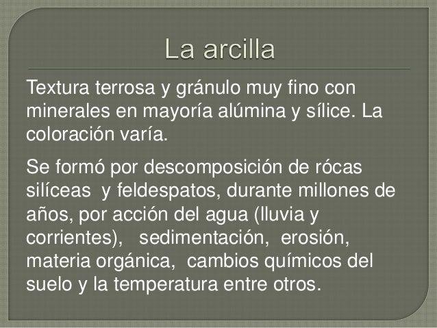 Composicion y caracteristicas de la arcilla - Que es la arcilla polimerica ...
