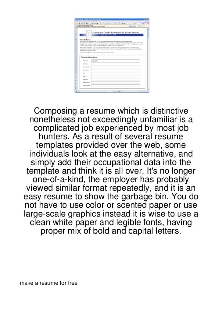 Composing a resume which is distinctive   nonetheless not exceedingly unfamiliar is a     complicated job experienced by m...