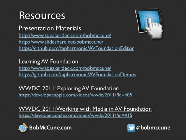 Composing and Editing Media with AV Foundation