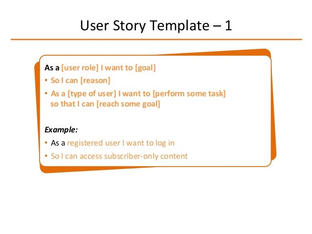 Composing User Stories  Beginners Guide