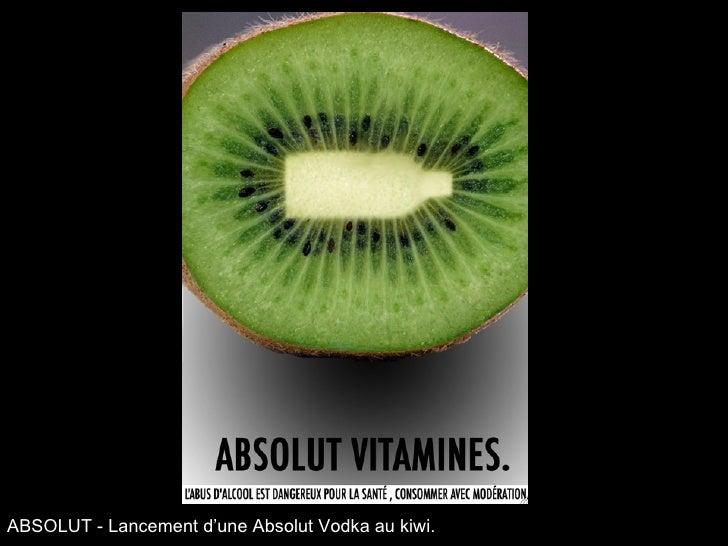 ABSOLUT - Lancement d'une Absolut Vodka au kiwi.