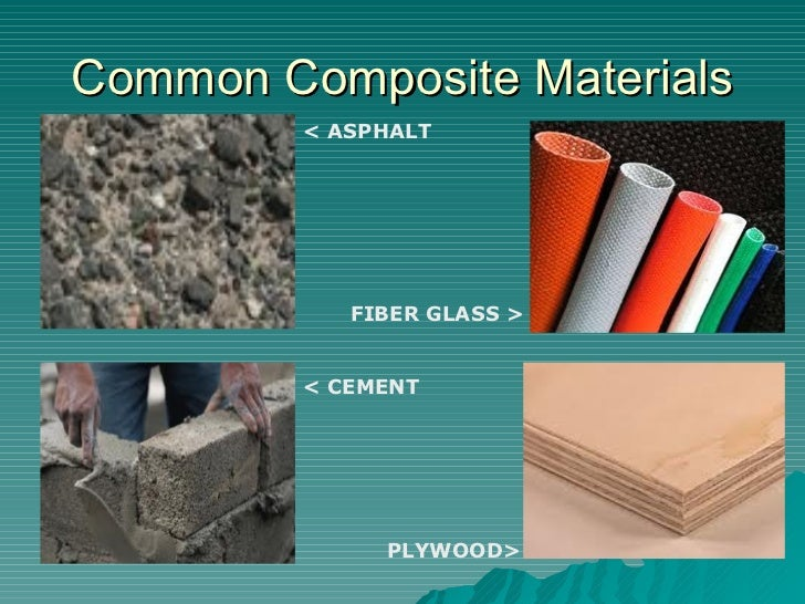 what are examples of composite materials