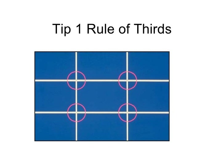 basic rules of photography The rule of thirds is a basic principle that helps you to compose  other than the  sun, the grass also pops out in this photo because it's on the.