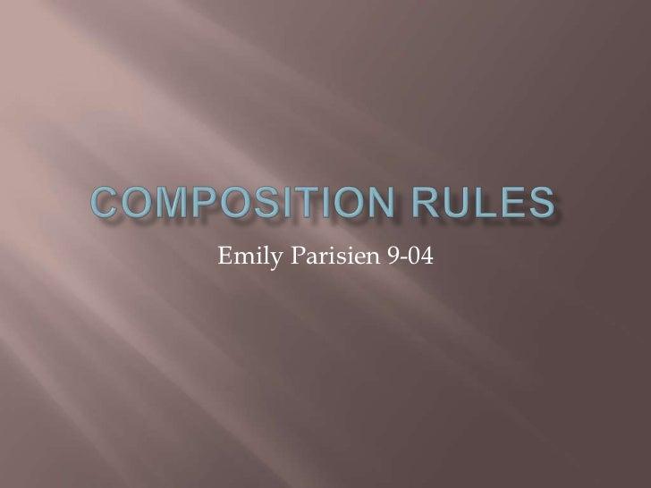 Emily Parisien 9-04